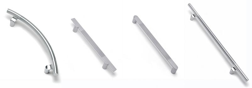 Poign e de porte inox design poign e b quille fixe for Poignee de porte inox design